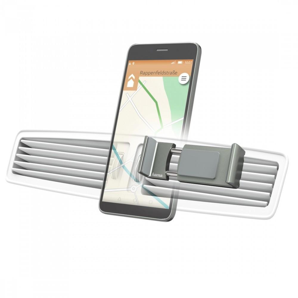 Hama Flipper 2.0 Univerzális autós mobiltartó, alu - szürke (178223)