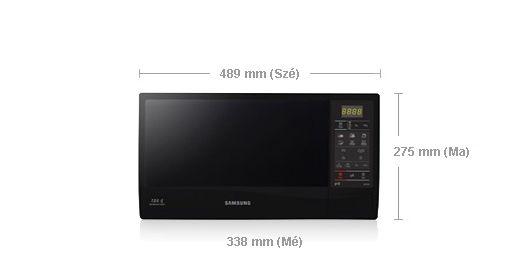 Samsung SAMSUNG GE732K/XEO Mikróhullámú sütő