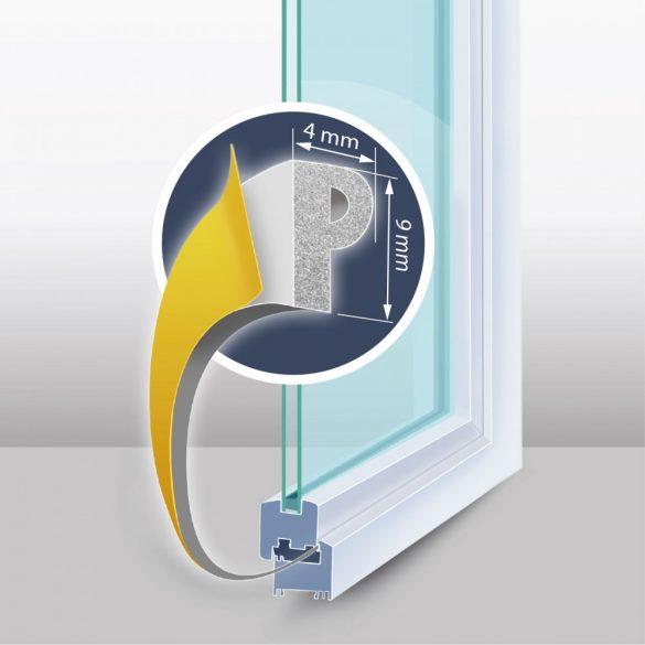 DeLight Öntapadós ajtó- ablakszigetelő (11597WH-100)