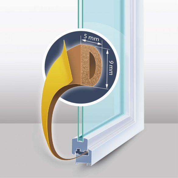 DeLight Öntapadós ajtó- ablakszigetelő (11599BR-100)