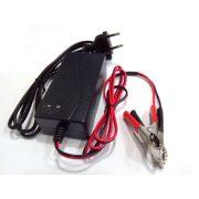 RedDot 12V 1.8A zselés akkumulátor töltő