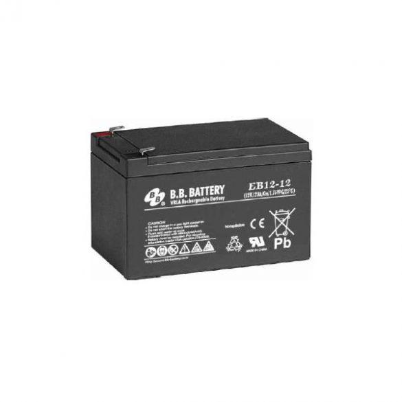 B.B. Battery EB12/12 12V 12Ah ciklikus akkumulátor