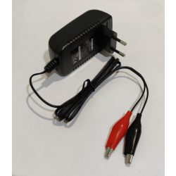 RedDot 12V 1A zselés akkumulátor töltő