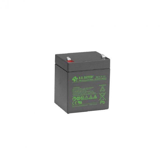 B.B. Battery BC4.5-12 12V 4.5Ah T2 zselés akkumulátor