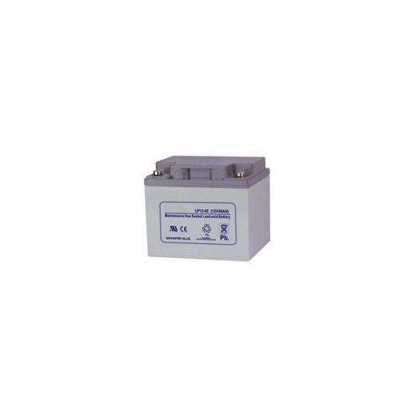 SLA LP-12-45 12V 45Ah zselés akkumulátor