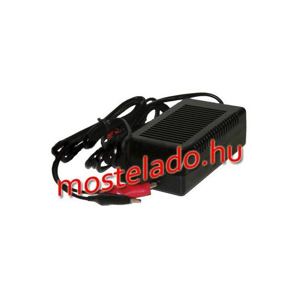 RedDot 12V 4A zselés akkumulátor töltő