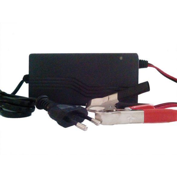 RedDot 36V 3A zselés akkumulátor töltő