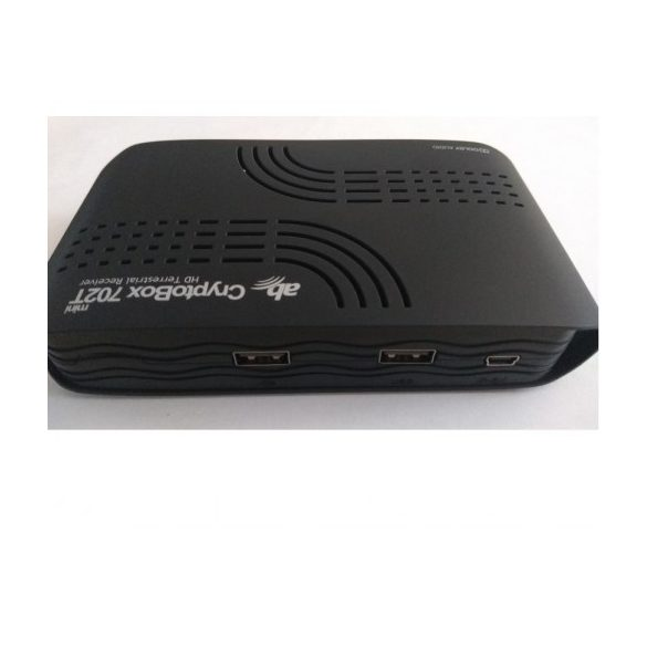 AB Cryptobox 702T DVB-T2 HEVC földi sugárzású beltéri egység