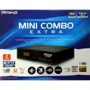 AMIKO MINI COMBO Extra (DVB-T DVB-C DVB-S) vevő