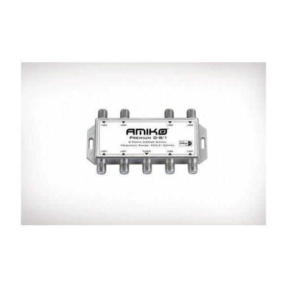 AMIKO Premium D-8/1 DiSEqC fejkapcsoló