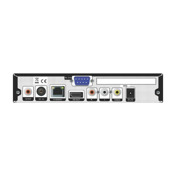 Amiko HD 8142 Twin DVB-C kábeltv vevő