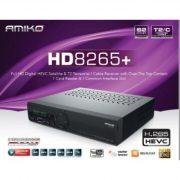 Amiko HD 8265+ műholdvevő és T2/C beltéri egység