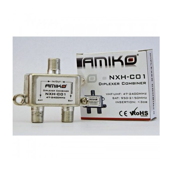 Amiko NXH-C01 beltéri diplexer-combiner