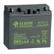 B.B. Battery BC18-12 12V 18Ah zselés akkumulátor