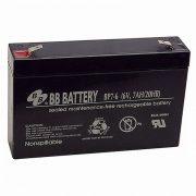 B.B. Battery BP7-6 6V 7Ah T2 zselés akkumulátor