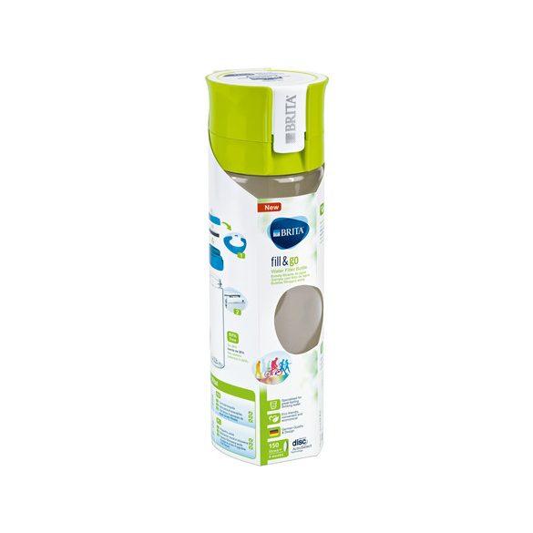Brita Fill&Go Vital vízszűrős kulacs - 600ml - lime