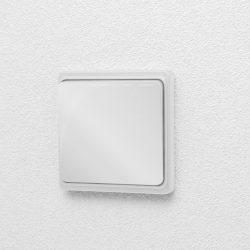 DeLight Kinetic vezeték nélküli kapcsoló - fényes fehér (55350A)