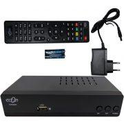Econ T2/C-BOX E-265 digitális beltéri egység MinDigTV-hez és kábeltévéhez