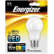 Energizer LED égő 9.2W (60W) E27 806lm 2700k