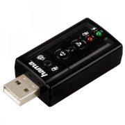 Hama 7.1 Surround USB külső hangkártya (51620)