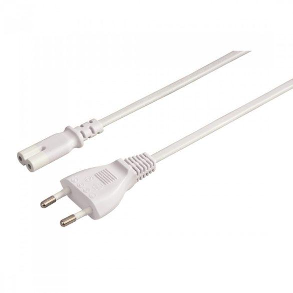 Hama 2 eres hálózati kábel - 5 m - fehér (44237)
