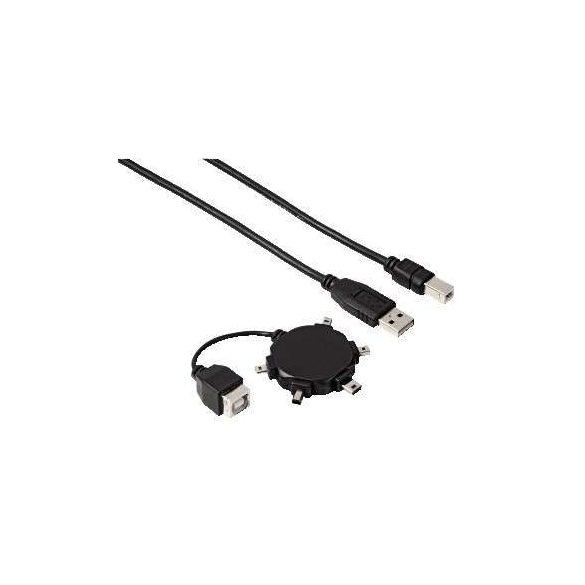 Hama multimédia univerzális mini USB kábel (39733)