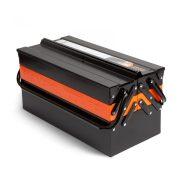 Handy fém, szétnyitható szerszámosláda 43x21x20 cm (10948)