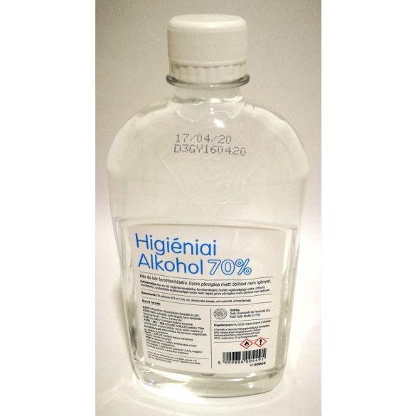 Higiéniai alkohol 70% kéz és bőr fertőtlenítésére 0.5l