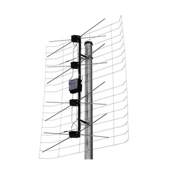 Nagylepke UHF szélessávú Mindig TV antenna(JET TURBO 50/90)