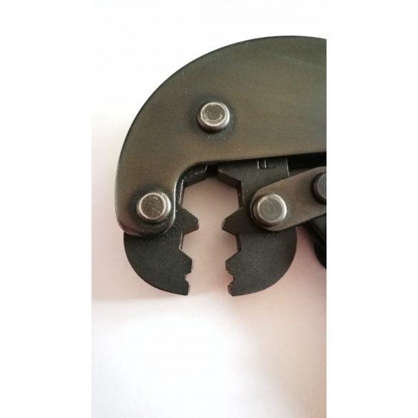 Krimpelő fogó koax RG6 és RG11 csatlakozókhoz (HT 106 F)