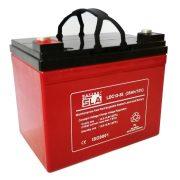 SLA LDC12-35 12V 35Ah zárt, gondozásmentes ciklikus AGM akkumulátor