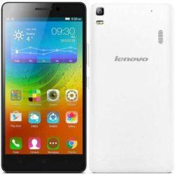 Lenovo A7000 Dual SIM okostelefon (fehér)