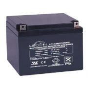 Leoch LP12-28 12V 28Ah zárt, gondozás mentes, longlife AGM akkumulátor