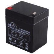Leoch LP12-5.4_T2 12V 5.4Ah zárt, gondozás mentes AGM akkumulátor