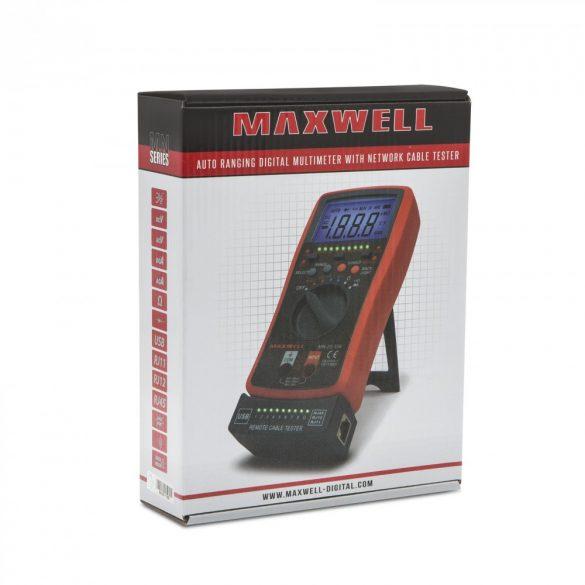 Maxwell Digitális multiméter (25334)