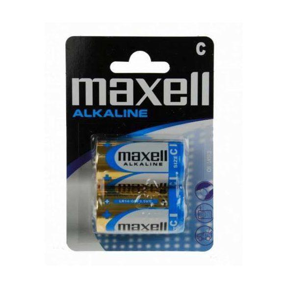 Maxell LR14 2db alkáli baby elem