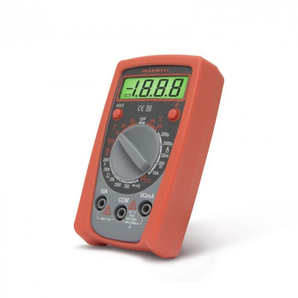 Maxwell digitális multiméter (25103)
