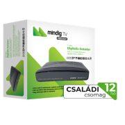 MinDigTV 12 hónap Extra Családi csomag beltéri egységgel