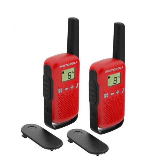 Motorola Talkabout T42 piros walkie talkie (2db)