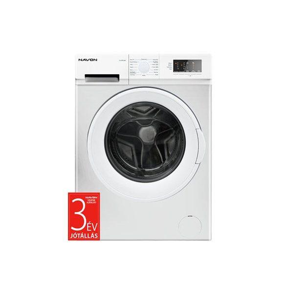 Navon S6100AAA elöltöltős keskeny mosógép