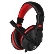 Marvo Fejhallgató - H8321 (mikrofon, 3.5mm jack, hangerőszabályzó, nagy-párnás, 2.0m kábel, fekete)