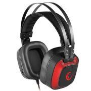 Rampage Fejhallgató - SN-RW77 PRESTIGE (7.1, mikrofon, USB, hangerőszabályzó, nagy-párnás, 2m kábel, fekete-piros)