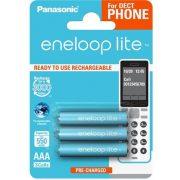 Panasonic eneloop lite BK-4LCCE/3DE AAA 550mAh Ni-MH akkumulátor