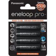 Panasonic eneloop pro BK-3HCDE/4BE AA 2500mAh Ni-MH akkumulátor