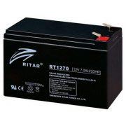 Ritar RT1270 12V 7Ah zselés akkumulátor T1
