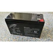 Ritar RT1275 12V 7,5 Ah zselés akkumulátor T1