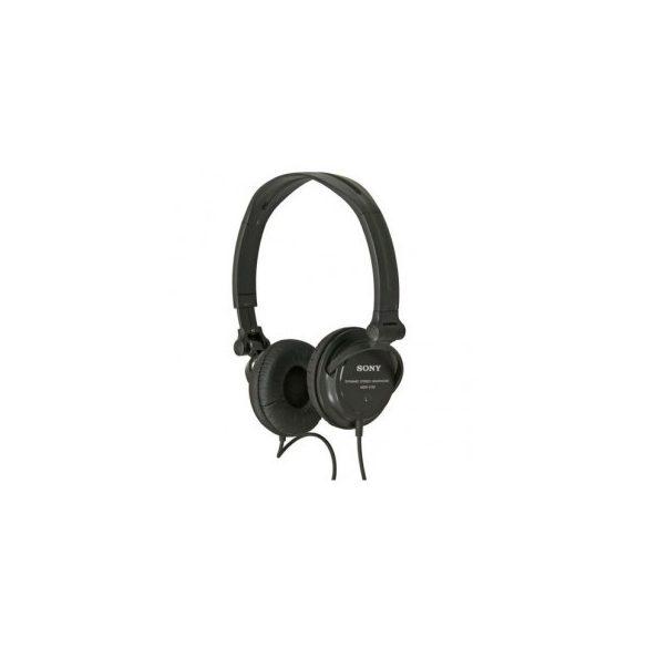 Sony MDRV150 fejhallgató - fekete