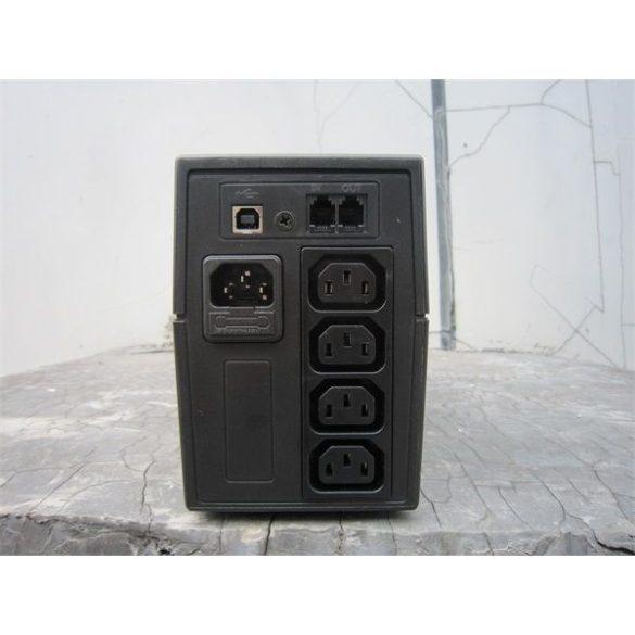 SPS PRO 600VA line-interaktív UPS LED szünetmentes tápegység