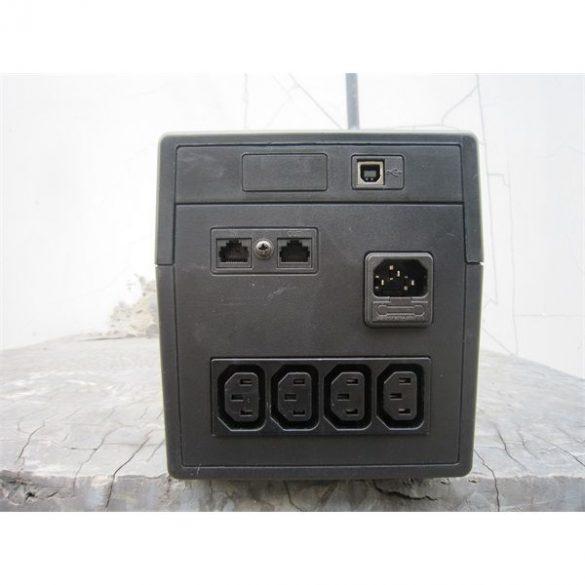 SPS PRO 1000VA line interaktív UPS RS232 LED
