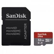 SanDisk microSDHC Ultra Android kártya 32GB  (173447)